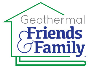 geothermal friends and family rebate logo