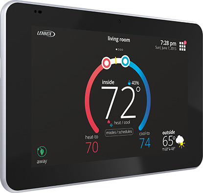 lennox programmable thermostat, smart thermostat installation